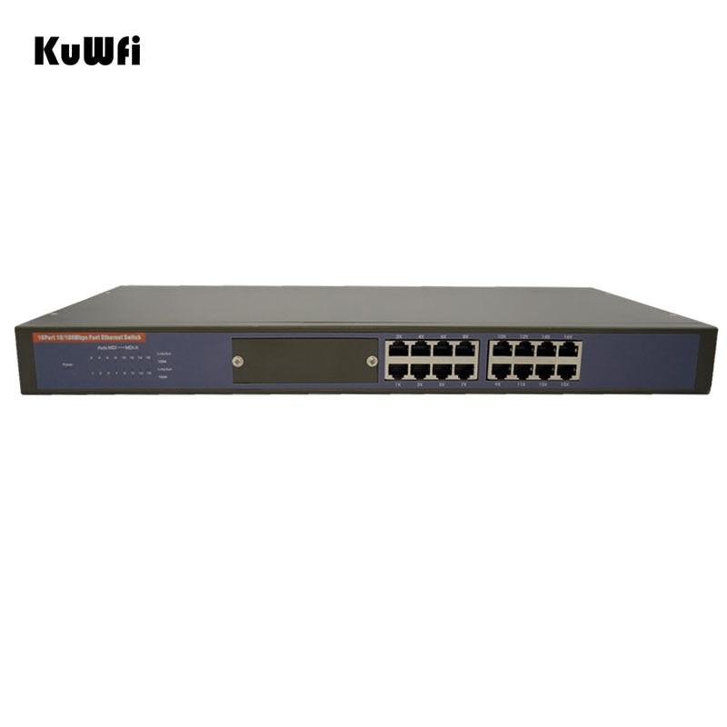 16Ports Full-duplex & Half-duplex 10/100Mbps Speed Data Transfer Ethernet Switch Network Rack-Mount Desktop Ethernet Switch evolis avansia duplex expert smart