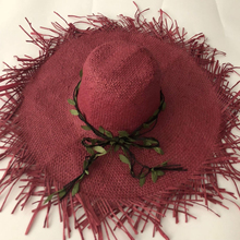 ZJBECHAHMU Hats New Fashion Solid Vintage Straw Sun hats For Women Summer Big sunshade beach hat  Lafite Caps High quality