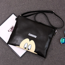 2018 Women  Messenger Bags Minnie Mickey Bag Leather Handbags Clutch Bag Bolsa Feminina mochila Bolsas Female sac a main