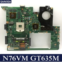 Placa base de ordenador portátil KEFU N76VM para ASUS N76VM N76VZ N76VJ N76V placa base original prueba de 100% GT635M/GT630M
