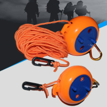 Portable Camping Travel Clothes Line Outdoor Windproof Elastic Adjustable Clothesline With Storage Case