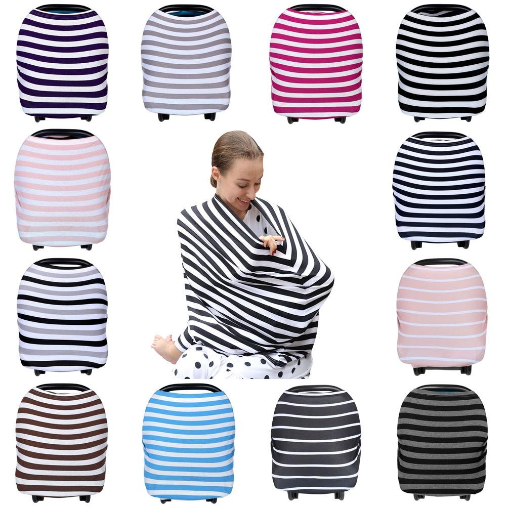 Nursing Breastfeeding Cover Scarf Baby Car Seat