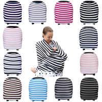 Pflege Stillen Abdeckung Schal Baby Auto Sitz Baldachin Autositz Abdeckungen Für Mädchen & Jungen Beste Multi-Verwenden Unendlichkeit Stretchy schal