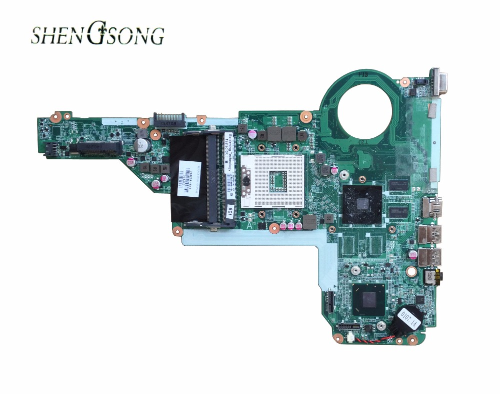 Free Shipping 713258-501 713258-001 for HP Pavilion 14-E 15-E 15-E028TX MotherBoard HM76 1G DA0R62MB6E0 DA0R62MB6E1 free shipping 729843 501 729843 001 for hp pavilion 14 15 17 motherboard hm76 integrated i3 3110m dar62cmb6a0 100