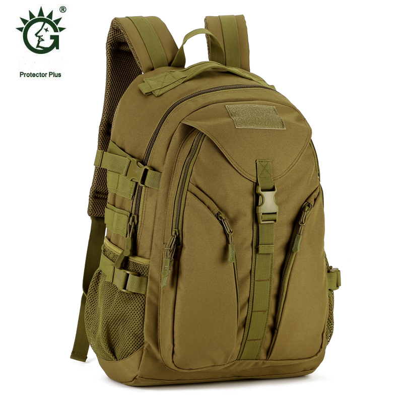 Protector Plus Molle Military Tactical Bag Backpack 40L For Sports Outdoor Walking And Hiking Camping Backpacks Bags Sporttas outdoor military molle tactical backpack 40l pouch bag for sports travel rucksack mochila camping hiking backpacks bags