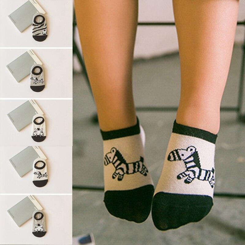 2018 Cartoon Socks Kids Baby Socks Cartoon Baby socks Boy Girl Socks Christmas Gift For Baby 5 Pairs F0185