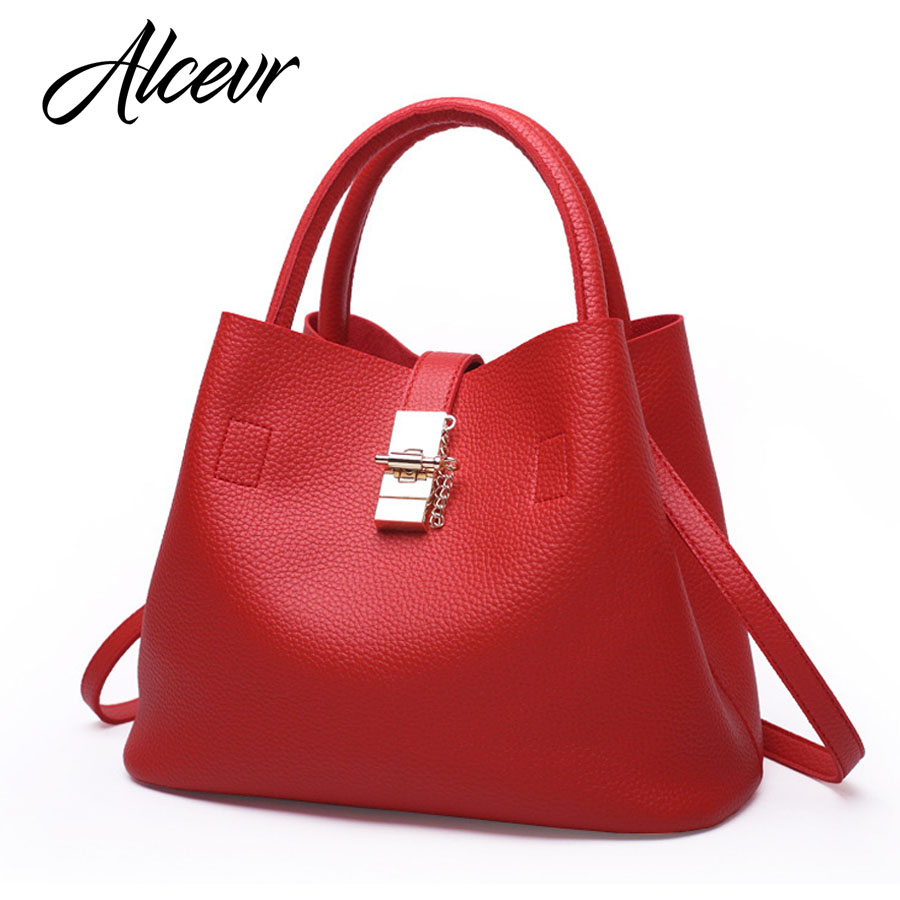 ALCEVR Famous Brand Fashion Candy Women Bags Mobile Messenger Ladies Handbag PU Leather High Quality Diagonal Cross Mother bag 2016 pu leather vintage bag 2 colors patchwork women messenger bags fashion ladies bag good quality famous brand