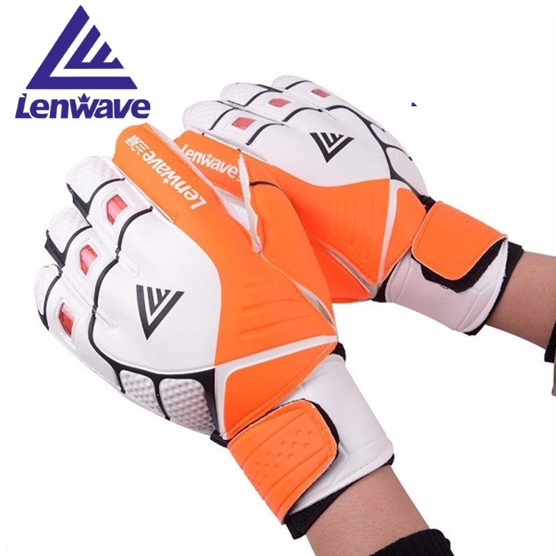Sports & Entertainment Strong-Willed Soccer Goalie Gloves Durable Soccer Goalkeeper Professional Training Goalkeeper Gloves With Fingerboard Finger Protection 1 Pair