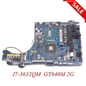 CN-0TRPPH 0TRPPH TRPPH QBL00 LA-7851P For dell XPS 15 L521X 15.6 inch laptop motherboard I7-3632QM HD4000+GT640M 2G GDDR5