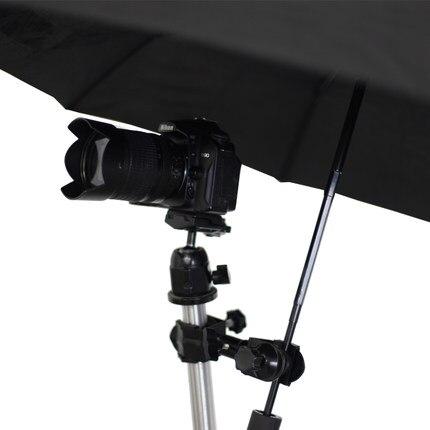SLR Camera Tools Photographic Umbrella Holder Clip//Clamp for Tripod