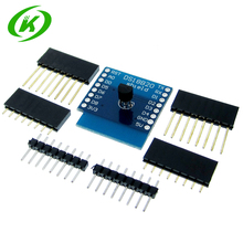 10 pçs/lote DS18B20 Temperatura Sensor De Escudo Wemos D1 Mini D1 Mini Pro ESP NodeMCU