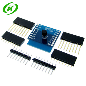 Image 1 - 10pcs/lot DS18B20 Temperature Sensor Shield Wemos D1 Mini D1 Mini Pro ESP NodeMCU