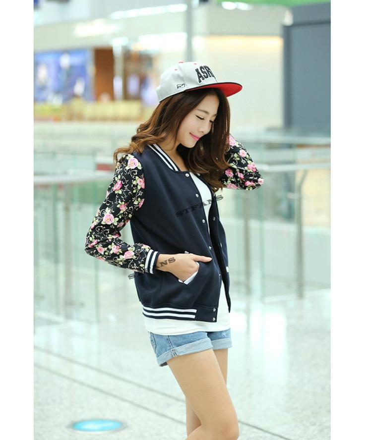 Online Shop 2017 NEW Bigbang EXO kpop women Baseball Jacket long ...