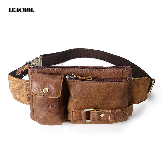 Купить мужскую сумку на ремень в алиэкспресс кожаные ремни йошкар ола