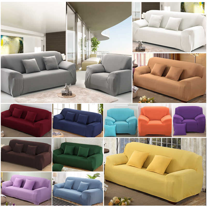 Awesome Solid Sofa Cover For Living Room Elastic Case For Sofa Ibusinesslaw Wood Chair Design Ideas Ibusinesslaworg