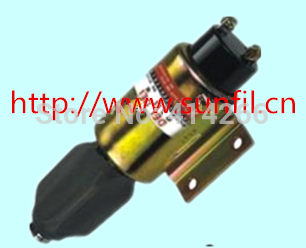 Fuel Shutdown Solenoid 2003-24E7U1B1SA 24V for ENGINE free shipping by dhl,ups ,tnt ,fedex кеды michael michael kors michael michael kors mi048awacwn2