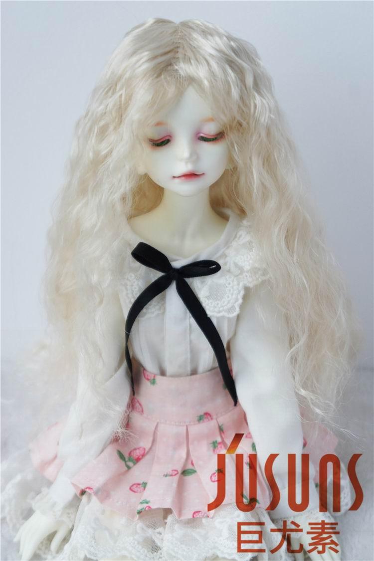 Blonde dans l/'offre Noir Perruque comme véritables nouveauté: mohair boucles perruque