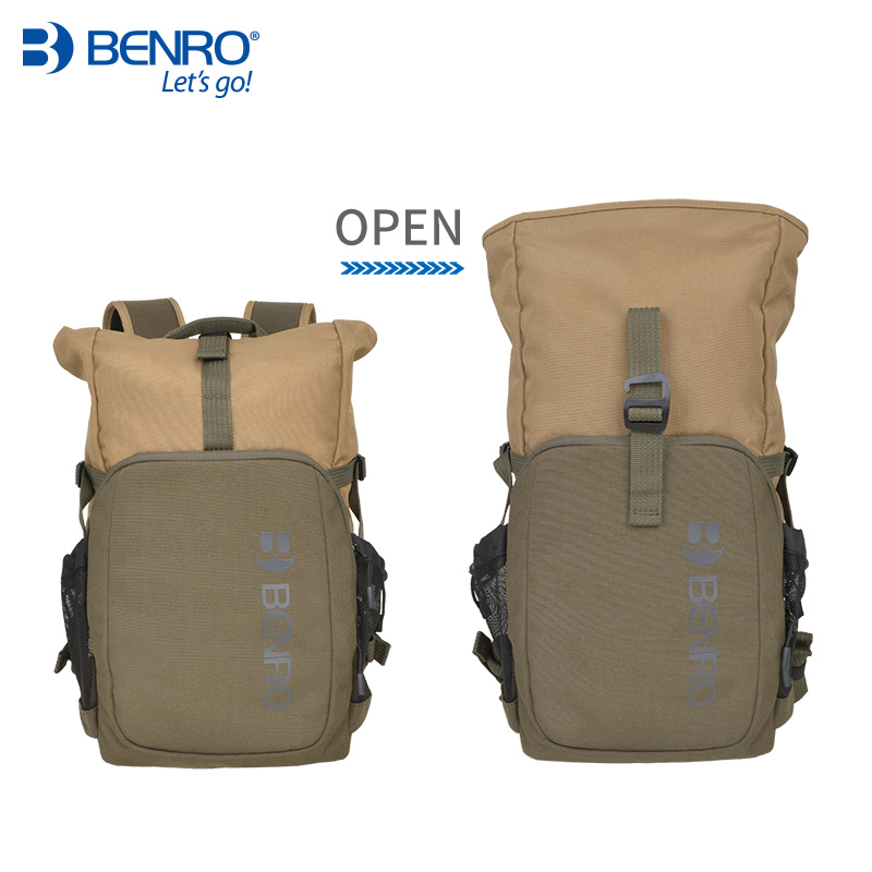 Benro INCOGNITO B100 B200  Camera Backpack DSLR Camera Bag Waterproof Soft Shoulders Bag Men Women Backpack For Canon/Nikon benro beyond b200 backpack camera bag nylon waterproof dslr camera bag case for canon nikon camera rain cover