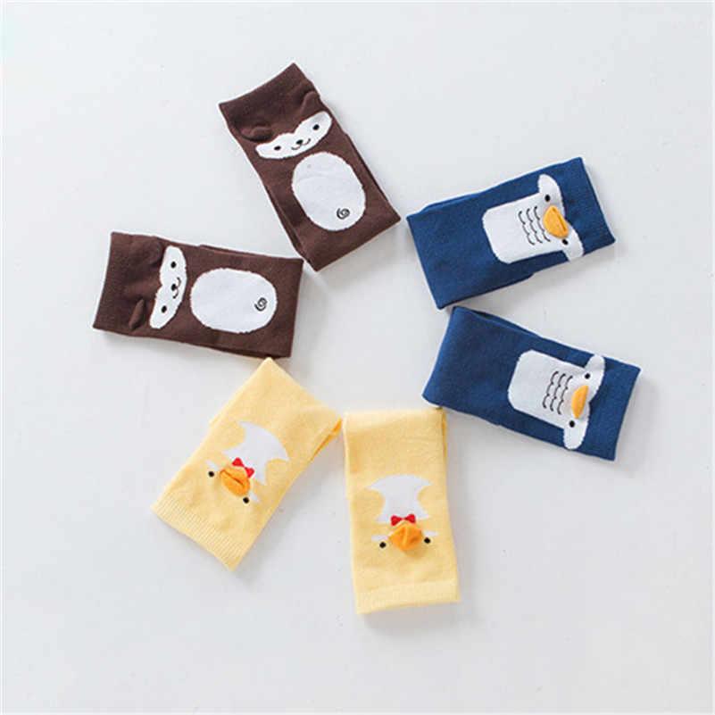 BalleenShiny/носки для малышей милые мягкие хлопковые нескользящие Гольфы с рисунком утки и пингвина для маленьких мальчиков и девочек