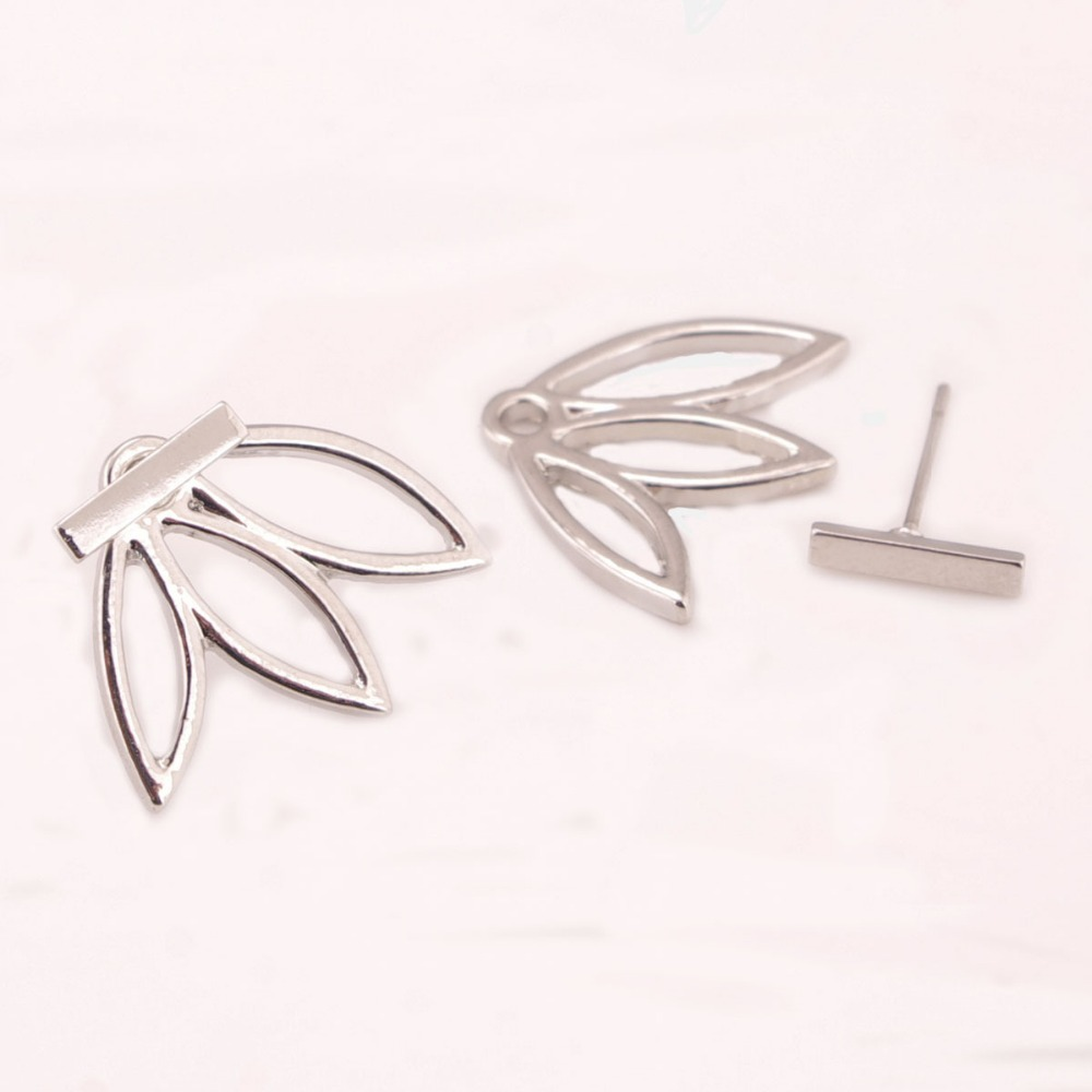 silver luulla heart simple love in stud earrings out product shaped small original cut on