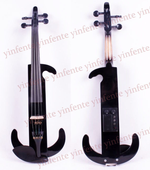 4/4 Electric Violin Powerful Sound High quality Solid wood Blank