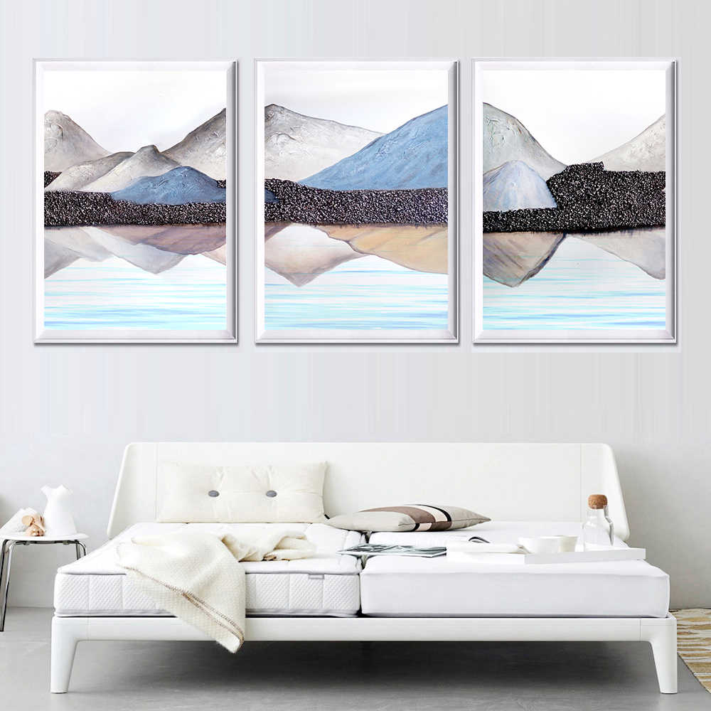 Abstract Landscape Canvas Painting Modern Art Home Decor Painting Wall Art Pictures Canvas Prints Poster Living Room Decoration