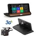 """Nuevo 7 """"IPS 3G Wifi DVR Coche Cámara Android 5.0 GPS de Navegación Grabador de vídeo Bluetooth Dual Lente Dash cam Videocámara Full HD 1080 P"""