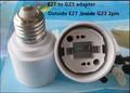 E27 G23 2 pins conversão lâmpada conversores de G23 virar E27 converter adapter lâmpada E27 G23