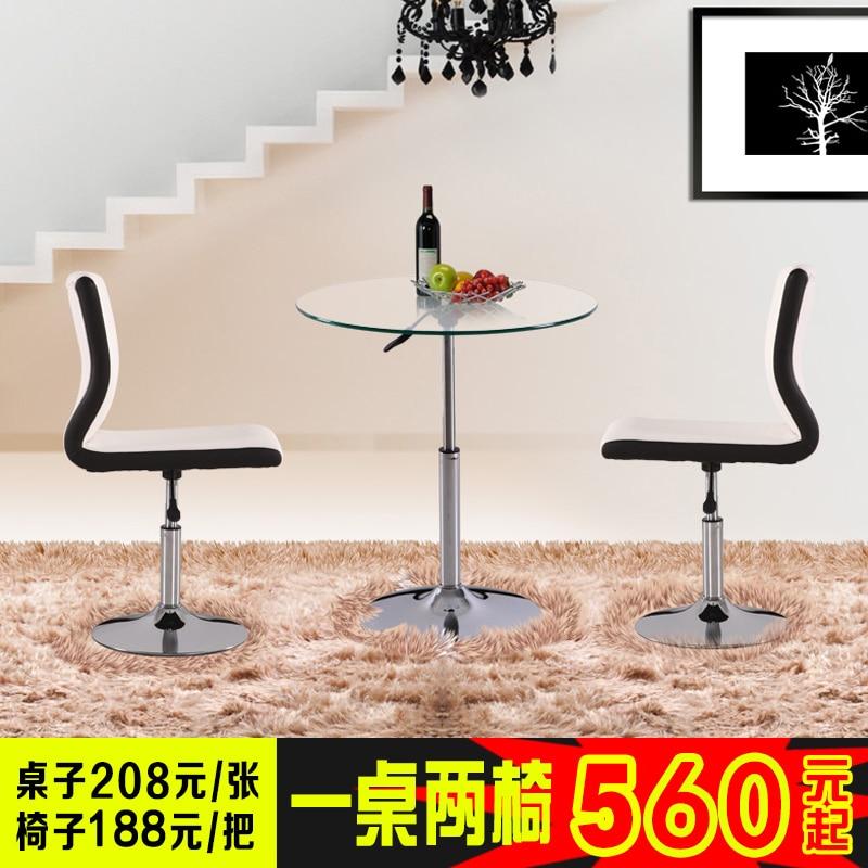 Ikea Elegante Semplicità Piccolo Tavolo Rotondo Di Vetro Di