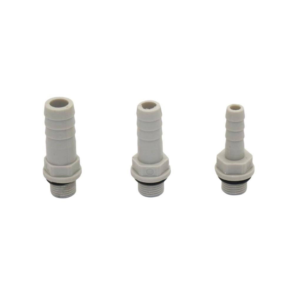 Plastic-Steel Pipe Fitting 1/8