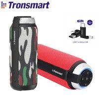 Tronsmart T6 Bluetooth Speaker 25W Outdoor Mini Column Box Portable Speaker Wireless 360 Stereo Sound Soundbar Speakers for MP3