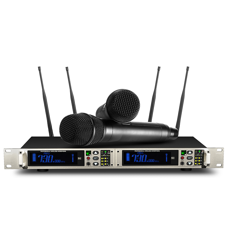 Shinco U35 U segment wireless microphone One to two remote stage performance host microphone 500 meters remote receiving