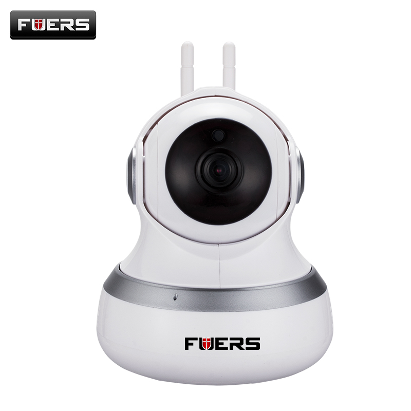 Fuers HD WiFi Cloud Camera P2P Wireless Baby Monitor 720p Ip Cloud Camera Night Vision Surveillance Compatible With Alarm Sensor 720p hd wifi camera p2p wireless baby monitor security camera cloud storage night vision camera compatible with sensor detector