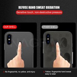 Image 2 - NAGFAK 0.29mm Mat Telefon iPhone için kılıf 6 6 S Artı 8 7 Artı Durumda Ultra Ince Sert Kapak iPhone X 5 5 S SE 10 Telefon Çanta Kılıfları