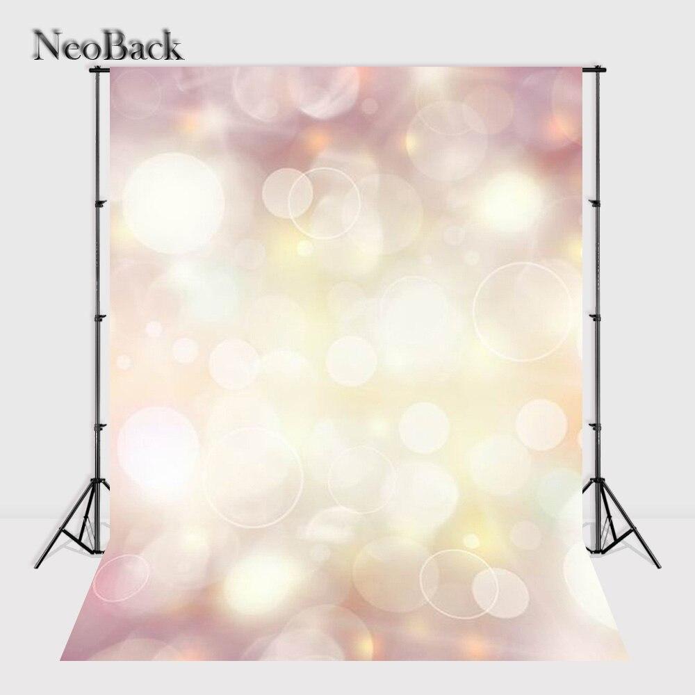 NeoBack 5x7ft Vinyl Cloth Bokeh Photo backgrounds for photo studio children shooting Computer Painted Photo Backdrops P0722