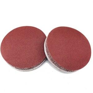 Image 4 - 30pcs/set 7inch 180mm  Round sandpaper Disk Sand Sheets Grit 80/100/120/180/240/320 Hook and Loop Sanding Disc for Sander Grits