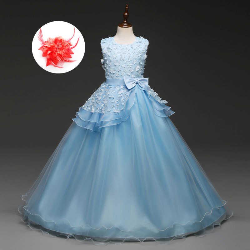 b8d9b3ff8 Nuevo 2019 lindo Vintage boda Vestido para las niñas de la colmena de  melocotón menta luz