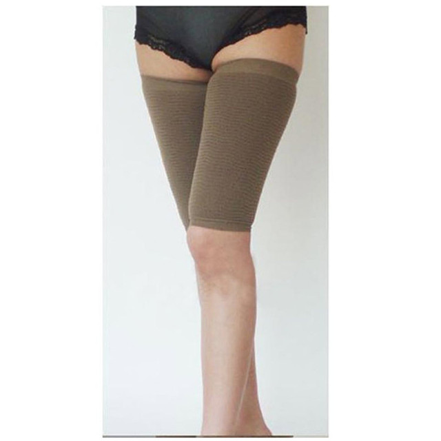 8e0c21fd6e7 1Pair Slimming Arms cincher + 1pair Legs Shaper firm arm slimming shaper  Bodybuilding Legs upper Arms Training Corset women Thin