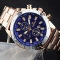 Популярные мужчин и женщин лучший бренд класса люкс кварц colock календарь часы из нержавеющей стали R-76 мода наручные часы relojes hombre
