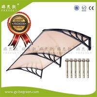 YP100240-A 100x120 cm 100x240 cm 100x360 cm alüminyum pencere tente kapı gölgelik polikarbonat şeffaf kapak sun gölge yağmur barınak