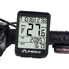 цена на Wire/Wireless Backlight LCD Screen Bike Computer Waterproof Speedometer Odometer Cycling Bicycle Measurable Stopwatch Tachometer