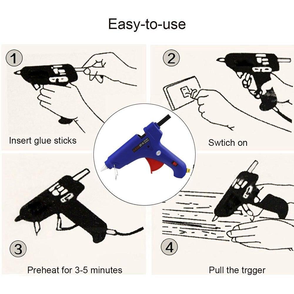 Paintless Dent Removal Tools 14PCS Car Repair Kit PDR Tools Bridge Puller Set with 100w Glue Gun and 10mm X 220mm Glue Stricks (3)