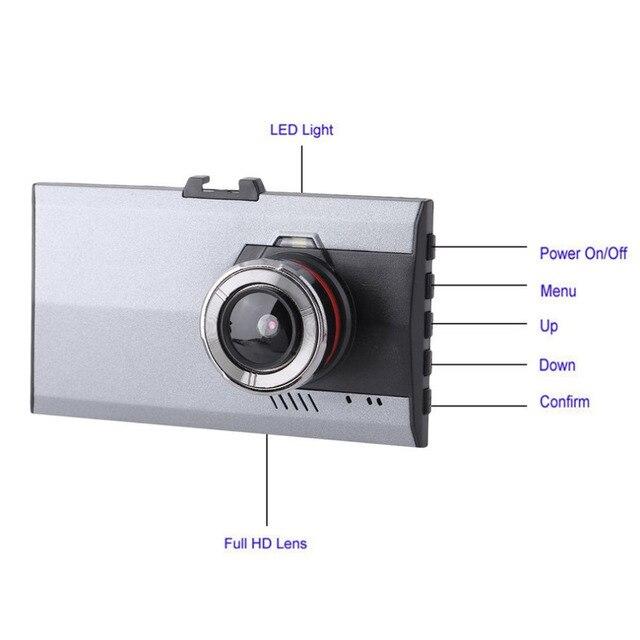 3 Inch LCD Full HD 1080P Night Vision Car DVR 170 Degree Viewing Angle Motion Detection & G-Sensor Video Cam Dash Cameras 2