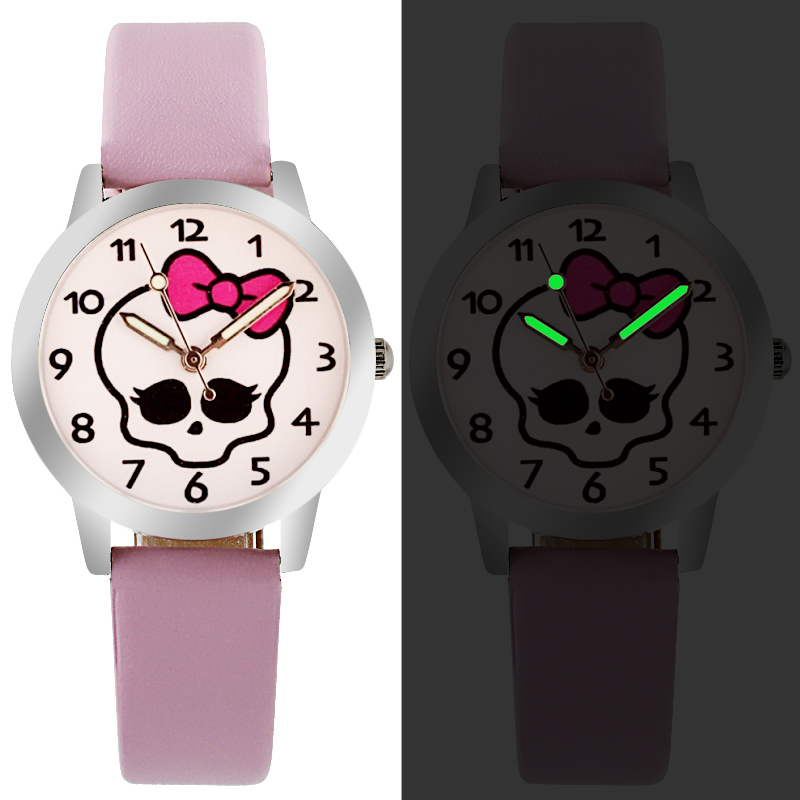 Children Watch Fashion Brand Watches Quartz Wristwatches Kids Clock Boys Girls Students Wristwatch Cute Cartoon Multicolor
