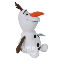 Hot Sale! Olaf Plush Toy Dolls 45CM Olaf Anime Ice Snowman Olaf Cartoon Plush Toy Children Kid Christmas Present