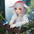 free shipping fairyland minifee RIN toy soom doll bjd sd msd 1/4 luts with eyes