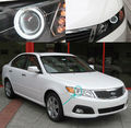 For Kia Optima Lotze Innovation 2009 2010 Excellent ccfl angel eyes kit Ultrabright illumination CCFL Halo Ring kit
