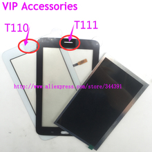 Original t110 t111 lcd display touchscreen für samsung galaxy tab 3 lite 7.0 t110 t111 lcd-bildschirm tracking