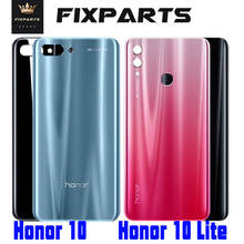 Original for Huawei Honor 10 Lite Honor 10 Back Battery Cover Honor10 Lite Back Glass Cover Honor10 Rear Door Housing Case Panel for huawei honor 6a 8x case soft tpu silicone for huawei honor 9 lite cover wolf patterned for huawei honor 10 10 lite bumper