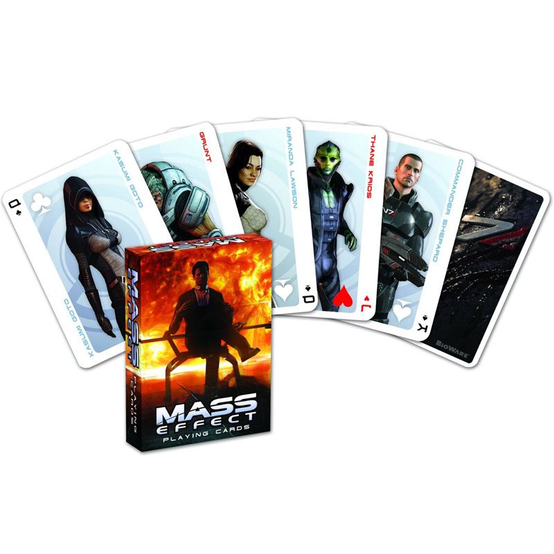 Game MASS EFFECT Game Playing Cards Collection